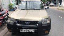Bán Ford Escape 2002, màu vàng, nhập khẩu, BSTP