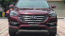 Cần bán lại xe Hyundai Santa Fe năm 2018, màu đỏ như mới