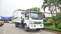 Bán Thaco OLLIN 900B tải cẩu 3 tấn, màu trắng