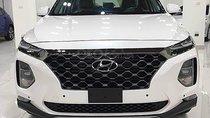Bán ô tô Hyundai Santa Fe Premium 2.4L HTRAC năm 2019, màu trắng