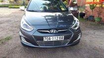 Cần bán Hyundai Accent AT sản xuất năm 2011, màu xám, xe vẫn còn đẹp