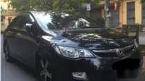 Cần bán Honda Civic 2.0 AT đời 2007, màu đen số tự động, giá tốt