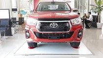 Bán xe Toyota Hilux 2.4E 4x2 AT đời 2019, màu đỏ, xe nhập