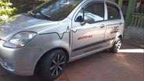 Cần bán Chevrolet Spark MT 2008, màu bạc, xe đẹp máy chất