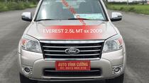 Bán xe Ford Everest 2.5L 4x2 MT đời 2009, màu phấn hồng