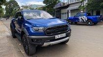 Cần bán lại xe Ford Ranger RapTor đời 2018, màu xanh lam, nhập khẩu, odo 8100km