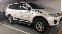 Gia đình bán Mitsubishi Pajero Sport số tự động đăng ký 2017, màu trắng, giá tốt
