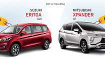 So sánh nhanh thông số kỹ thuật Mitsubishi Xpander và Suzuki Ertiga 2019 bản cao cấp nhất