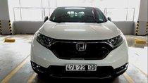 Bán xe Honda CR V 1.5 E đời 2018, màu trắng, xe nhập