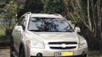 Cần bán lại xe Chevrolet Captiva 2.4 AT sản xuất 2007, màu bạc