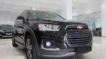 Cần bán Chevrolet Captiva LTZ đời 2016, màu đen, giá 635tr
