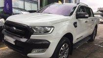 Ford Ranger Wildtrak 3.2 2015, màu trắng - Vay 70% - nhập khẩu Thái - Bảo hành 1 năm