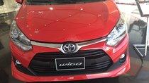 Toyota Wigo 1.2 AT sản xuất 2019, màu đỏ, nhập khẩu nguyên chiếc
