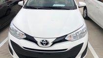 Bán Toyota Vios 1.5E số sàn năm sản xuất 2019, màu trắng giao ngay