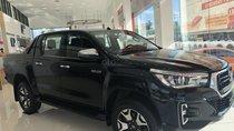 Toyota Hilux 2.8 (4x4) AT sản xuất năm 2019, màu đen, nhập khẩu nguyên chiếc giao ngay