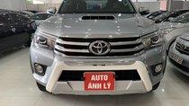 Bán ô tô Toyota Hilux sản xuất năm 2015, màu bạc, nhập khẩu Thái