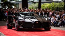 Số tiền mua một chiếc xe Bugatti bằng 150 chiếc hạng phổ thông cộng lại