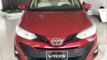 Bán Toyota Vios E CVT đời 2019, màu đỏ giá cạnh tranh