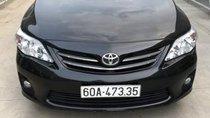 Cần bán lại xe Toyota Corolla altis đời 2011, màu đen ít sử dụng