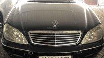 Cần bán xe Mercedes S Class đời 2001, màu đen, nhập khẩu nguyên chiếc