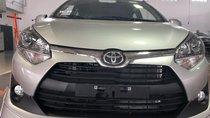 Bán Toyota Wigo 1.2 số tự động, sản xuất 2019, màu bạc, nhập khẩu nguyên chiếc, giá 390tr