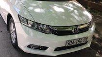 Bán ô tô Honda Civic đời 2014, màu trắng