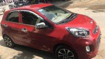 Cần bán gấp Kia Morning 1.0AT năm 2016, màu đỏ, giá 255tr