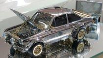 Mô hình ô tô làm từ đá quý giá 360.000 USD khiến dân chơi ô tô mê mệt