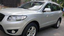 Bán Hyundai Santafe máy xăng  2.4 ĐK 2011 sx 2010, màu bạc số tự động, nhập khẩu, mới 90%