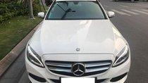 Bán Mercedes C200 màu trắng/ nội thất đen, sản xuất 2015, biển Hà Nội