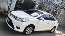 Bán Toyota Vios 2018 số tự động, màu trắng, biển TP