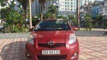 Cần bán xe Toyota Yaris 1.3AT đời 2011, màu đỏ, nhập khẩu nguyên chiếc