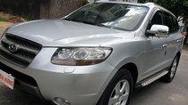 Bán Hyundai Santa Fe SLX 2.0 AT 4×2 2009, máy dầu, số tự động, màu bạc, nhập khẩu, mới 80%
