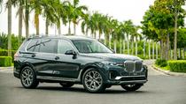 Giá lăn bánh xe BMW X7 2019 vừa ra mắt thị trường Việt