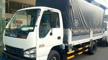 Bán xe tải Isuzu 1.9 tấn thùng mui bạt dài 4m3, có xe giao ngay, hỗ trợ vay 90% lãi suất thấp