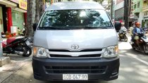 Bán xe Toyota Hiace sản xuất năm 2013 máy xăng, nhà sử dụng. Liên hệ: 0917174050 Thanh