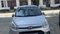 Cần bán lại xe Hyundai Grand i10 đời 2015, màu bạc, xe nhập, bảo hiểm thân vỏ và thuỷ kích đầy đủ