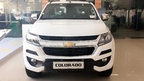 Bán xe Chevrolet Colorado High Country 2.5L 4x4 AT đời 2018, màu trắng, xe nhập