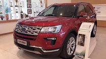 Cần bán Ford Explorer Limited 2.3L EcoBoost đời 2019, màu đỏ, nhập khẩu