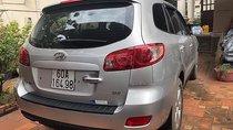 Cần bán xe Hyundai Santa Fe SLX đời 2009, màu bạc, nhập khẩu nguyên chiếc