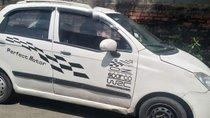 Bán Chevrolet Spark đời 2010, màu trắng, xe đi ngon, lợi xăng 100km/5lít