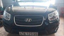 Bán gấp Hyundai Santa Fe 2009, màu đen, nhập khẩu