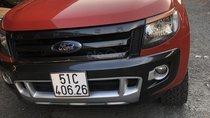 Cần bán xe Ford Ranger sản xuất năm 2015, màu cam, nhập khẩu nguyên chiếc, giá tốt
