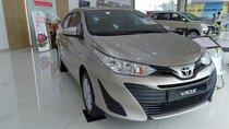 Bán Toyota Vios 1.5E MT 2019, màu nâu vàng mới 100%