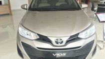 Cần bán Toyota Vios E năm 2019, màu nâu, giá chỉ 470 triệu, trả trước 130 triệu nhận xe ngay