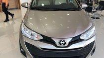 Toyota Vios 1.5E số sàn đời 2019 màu nâu vàng, bán trả góp chỉ với 130tr nhận xe