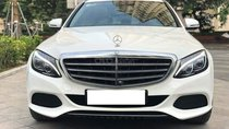 Mercedes C250 Exclusive màu trắng, sản xuất 2017