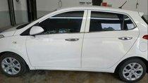 Cần bán lại xe Hyundai Grand i10 MT 2014, màu trắng, nhập khẩu, xe đẹp