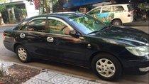 Bán Toyota Camry 2.4G đời 2002, màu đen, bảo dưỡng trong hãng