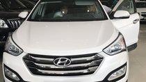 Bán Hyundai Santa Fe đời 2015, màu trắng giá cạnh tranh